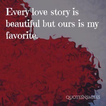 24. Love story