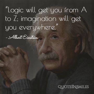 Imagination Albert Einstein Picture Quote