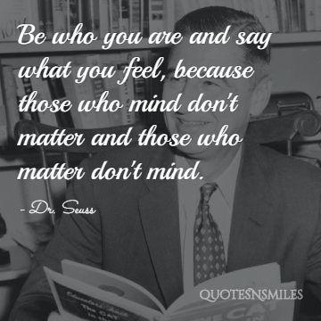 Dr Seuss Positive Picture Quote
