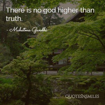 truth gandhi picture quote