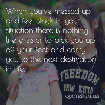 next destination sister picture quotes