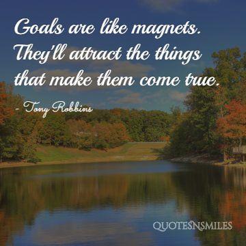 goals tony robbins picture quotes