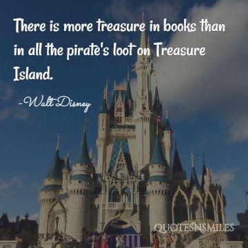 treasure in books disney picture quote