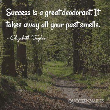 success Elizabeth Taylor Quote