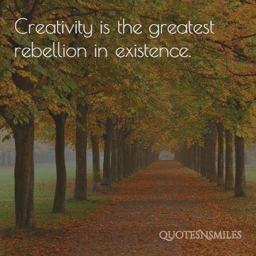creativity osho picture quote