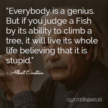 Albert Einstein Picture Quote Believe
