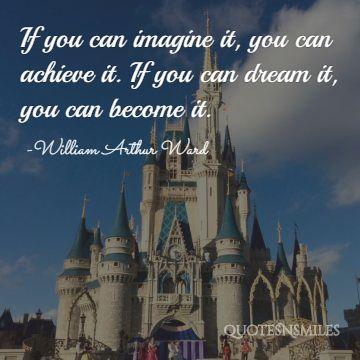 dream it disney picture quote