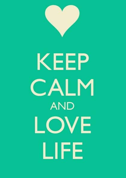 Images) 25 Keep Calm Picture Quotes | Famous Quotes | Love ...