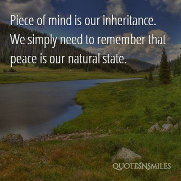 images) 25 Beautiful Picture Quotes For Inner Peace | Famous ...